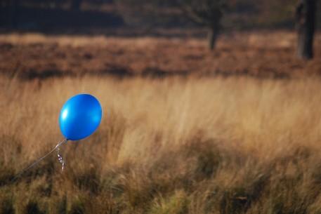 Blue Balloon by Simon Bisson